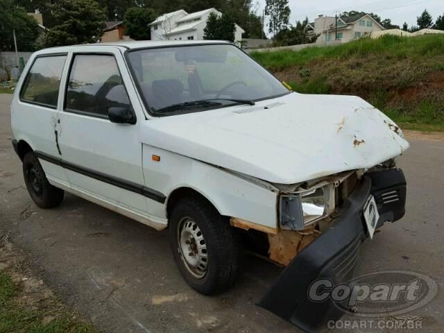 1990 Fiat Uno Leilo Online Copart Brasil
