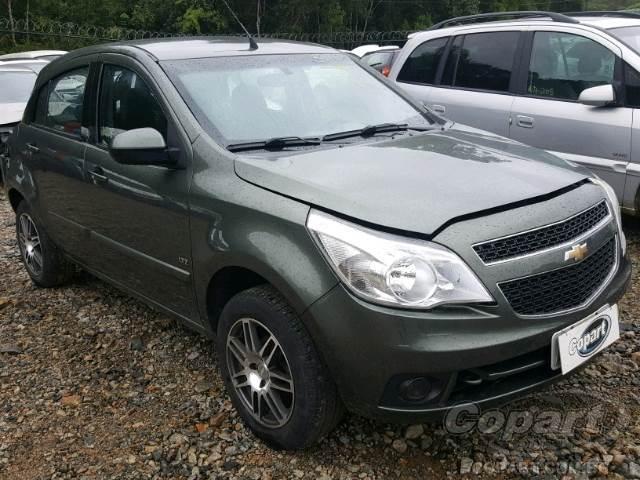 2010 Chevrolet Agile Leilo Online Copart Brasil