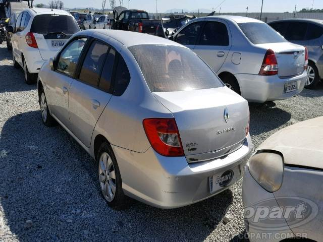 2010 Renault Symbol Leilo Online Copart Brasil