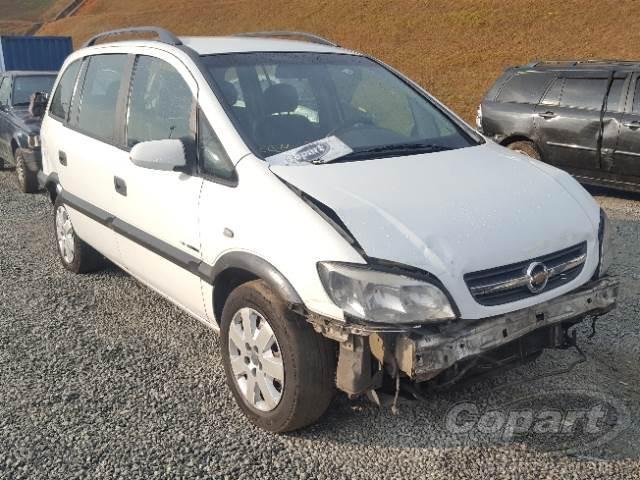 2009 Chevrolet Zafira Leilo Online Copart Brasil