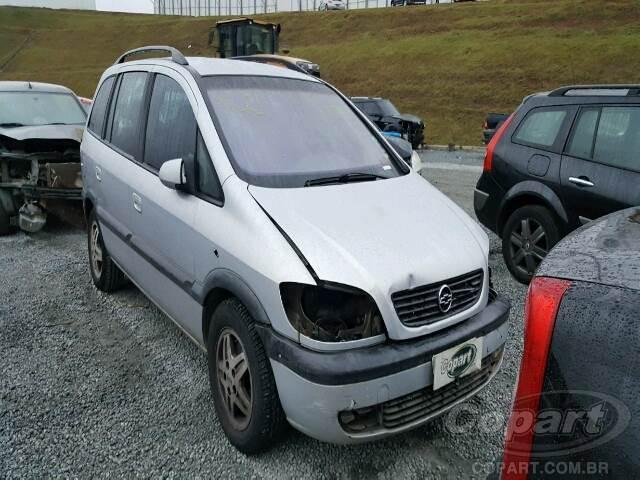 2003 Chevrolet Zafira Leilo Online Copart Brasil