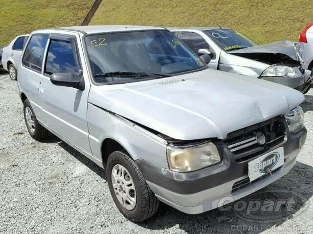 2011 Fiat Uno Leilo Online Copart Brasil