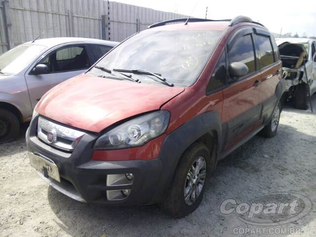 2011 Fiat Idea Leilo Online Copart Brasil
