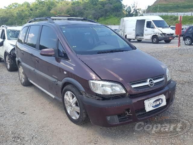 2006 Chevrolet Zafira Leilo Online Copart Brasil