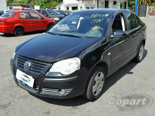 2008 VOLKSWAGEN POLO SEDAN
