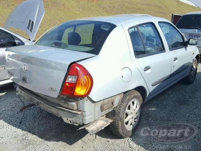 Renault Clio Sedan Leilao Online Copart Brasil