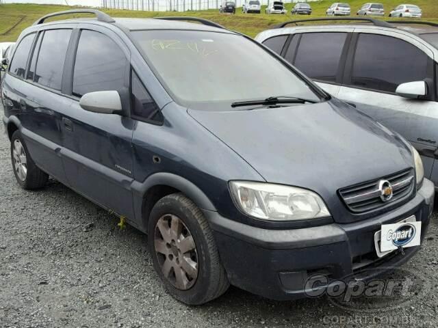 2008 Chevrolet Zafira Leilo Online Copart Brasil